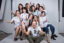 Photosession for Graduates album with Vlad Zarudniy